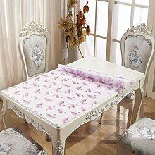 Eeayyygch Tischdecke Stoffband Tischplatte aus