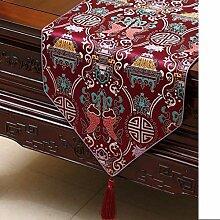 Eeayyygch Tischläufer, 33 x 150 cm, Farbe F, 33 x