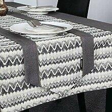 Eeayyygch Tischläufer/Couchtischläufer, 32 x 180