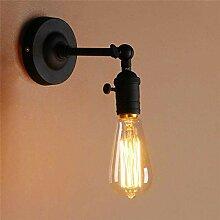 Eeayyygch Wandlampe Industrielle Vintage Metall