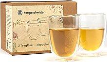 eegeschwister® | 2X Doppelwandiges Glas aus
