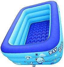 EElabper Aufblasbare Schwimmbecken Kinder Rechteck