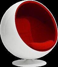 Eero Aarnio Originals Ball Chair Hallingdal Red