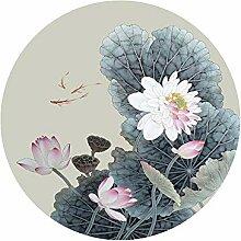 eesdfs Fensterfolien Sichtschutzfolie Lotus