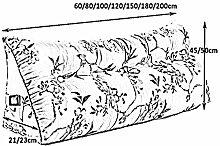 EETYRSD Bedside Backrest Pillow Triangle Pad