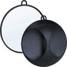 Efalock Handspiegel Kunststoff schwarz