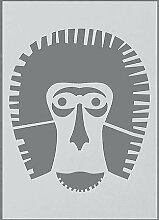 efco Baboon Schablone in 1Design, Kunststoff,