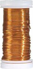 efco Gefärbter Kupferdraht, 0,5mm x 25m,