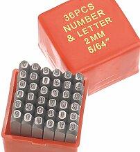 efco Ornaments Punch Buchstaben & Zahlen 2mm