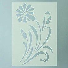 efco Schablone Blossom/1Design Din, Kunststoff,