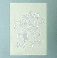 efco Schablone Monkey/1Design DIN, Kunststoff,