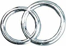 efco Wachs-Dekoration Hochzeitsinge, Silber