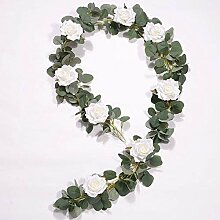 Efeu girlande künstliche pflanzen eukalyptus