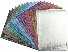Effekt-Papier, Seidencrash-Optik, metallic, DIN