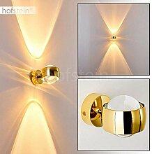 Effekt-Wandlampe Sapri - Kugelförmige Wandleuchte