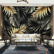 EFGHK 3D Wohnzimmer Wandbild Pflanze Blatt Tapete