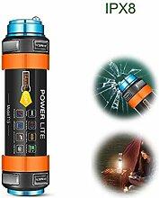 EFGS LED Taschenlampe, Tragbarer Zoombar