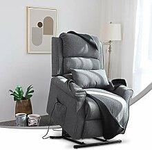 EFGSbed Elektrisch Relaxsessel mit Liegefunktion,