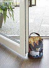 Efia Salonloewe Türstopper Türen Stopper Le Onde Rosina Wachtmeister Katze Bunt Baumwolle Polyester Sand
