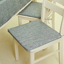 EFRC Reine Farbe einfach Schwamm Kissen Sitzkissen Kissen Büro Stuhl Esszimmer,3
