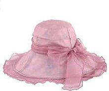 Efudfj Lady Silk Sonnenschutz Anti-UV Hut Großzügig Dünn Licht Cool Breathable Compressive Soft Out,D:Redbeanpaste-56cm