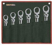EGA Master 63834–classicgear Flexible Gear Schlüssel 5/Gelenk 40,6cm Spiegel poliert Verchromung