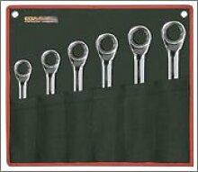 EGA Master 68231–Set von 12Pcs. Von classicgear Kombination Knarrenschlüssel Spiegel poliert Verchromung