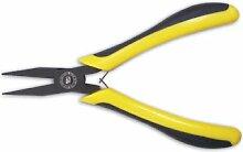 EGA Master Türstopper, ø 50–flach Nase Elektriker Zange 125mm schwarz-Gürtel mit verchromter Vergoldung Bima
