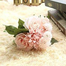 EgBert Rose Künstliche Blumen Brautstrauß