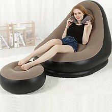EGCLJ Aufblasbare Liege-Couch - Aufblasbare Liege