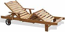 EGCLJ Holz-Chaise-Lounge -
