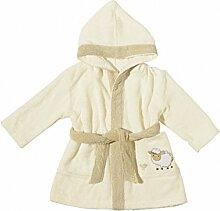 Egeria 501019 Sheep Kapuzenmantel Baby Bademantel,