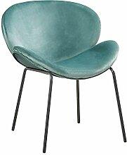 EGGREE Modern Samt Sessel Loungesessel