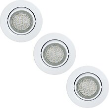 Eglo 13584 - LED-Deckenleuchte GU10/3W/230V