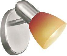 EGLO 27271 - Spotlight 1xG9/40W rot Glas