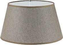 Eglo 49957 - Textil-Lampenschirm VINTAGE E27 braun
