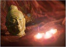 Eglo 75039 - LED leuchtendes dekorativ Bild BUDDHA