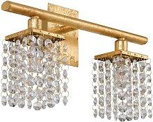 Eglo 97724 - LED Kristall-Wandleuchte PYTON GOLD