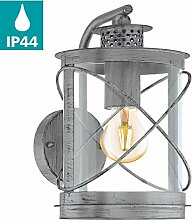 EGLO Außen-Wandlampe Hilburn 1, 1 flammige