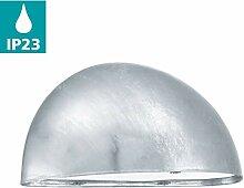 EGLO Außen-Wandlampe Lepus, 1 flammige
