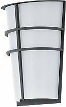 Eglo Außenlampe Außenleuchte Breganzo 2x2,5W warmweiß 25cm 94138