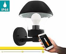 EGLO connect Außen-Wandlampe Verlucca-C, Smart