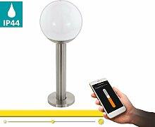 EGLO connect Außen-Wegelampe Nisia-C, Smart Home