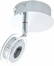 EGLO Deckenleuchte Sarolo Deckenlampe Chrom