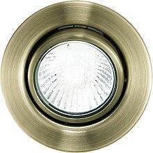 EGLO Einbaustrahler Metall GU10, Weiß