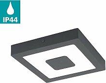EGLO LED Außen-Deckenlampe Iphias, 1 flammige