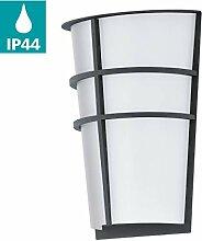 EGLO LED Außen-Wandlampe Breganzo, 2 flammige