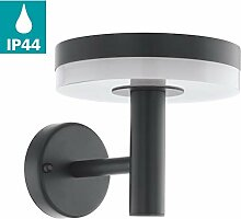 EGLO LED Außen-Wandlampe Mazzini, 1 flammige