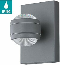 EGLO LED Außen-Wandlampe Sesimba 1, 2 flammige