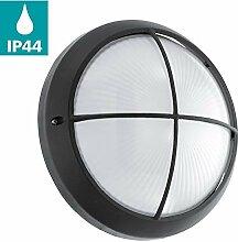 EGLO LED Außen-Wandlampe Siones 1, 1 flammige